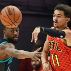 Atlanta's Trae Young Leads Eastern Conference Guards In Early Returns of NBA All-Star Voting.