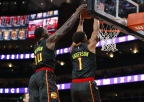 Hawks Can't Keep Pace With Indiana