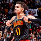 Hawks Guard Trae Young Named Kia NBA Eastern Conference Rookie of the Month (again).