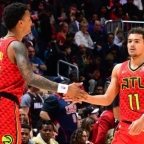 Atlanta Hawks Media Week; Trae Young and John Collins  (Video)
