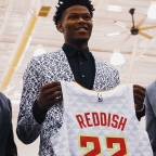 Cam Reddish Arrives in Atlanta, Meets with ATL Media (video)