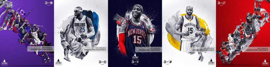 Hawks' Five-Set Limited-Edition Poster Series