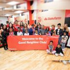 Atlanta Hawks and State Farm Host 'Season of Giving Event' and Unveil Renovated at Dance Studio.